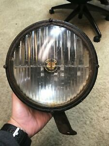 1930s Trippe Beam Safety Driving Lights Lamps Trippe Junior With Bracket