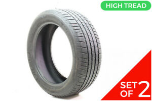 Set Of 2 Used 255 50r20 Michelin Defender Ltx M S 109h 8 32