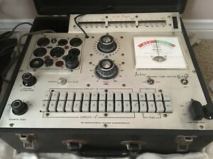 Jackson 648s Dynamic Solid State Tube Tester Works Vacuum Tube Tester