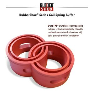 Rubber Shock Absorber Coil Springs Vehicle F R Buffer Booster Size D Rubbershox