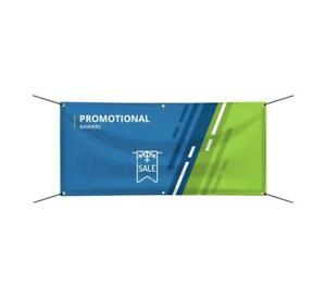 Custom Printed Promotional Banner Business Advertising Outdoor 16oz Vinyl Sign