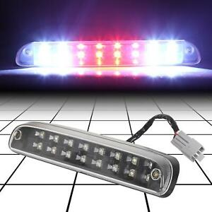 For 99 16 Ford Super Duty 2 Row Led Rear 3rd Third Tail Brake Cargo Light Lamp