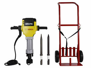 Bosch 120 volt 1 1 8 Brute Breaker Hammer Bh2760vcb With Basic Cart