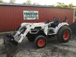 2011 Bobcat Ct225 4x4 Hydro Compact Tractor W Loader Only 900hrs
