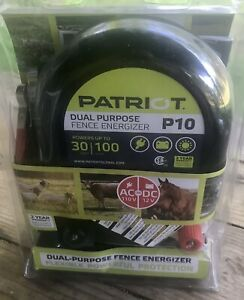 Patriot P10 Dual Purpose Fence Energizer 1 0 Joule