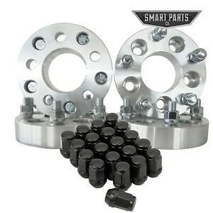 4 Jeep Wheel Adapters 20 Lug Nuts For 5x4 5 To 5x5 1 25 32mm Jk To Tj Yj Xj