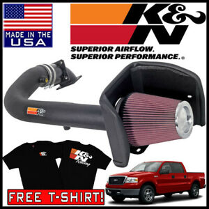 K n Fipk Cold Air Intake System 2004 2008 Ford F 150 2005 Expedition 5 4l V8