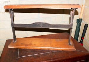 Antique Cast Iron Butcher Kason 15 Packing Paper Roll Dispenser Country Store