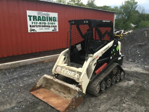 2013 Terex Pt30 Compact Track Skid Steer Loader W Only 1000hrs Coming Soon