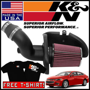 K N Aircharger Cold Air Intake System Kit Fits 2016 2018 Chevy Malibu 1 5l L4