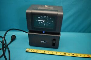 Used Lathem Time Clock 2121 no Keys
