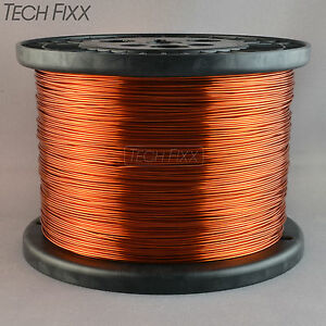 Magnet Wire 18 Gauge Enameled Copper 1890 Feet Coil Winding 9 5lbs Essex 200c