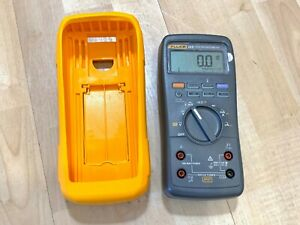Fluke 28 Ii True rms Rugged Ip 67 Industrial Digital Multimeter calibrated