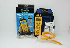 New Fieldpiece Sdmn6 Dual Port Manometer And Pressure Switch Tester