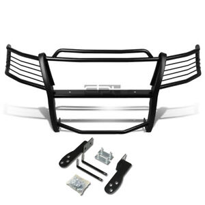Fit 03 06 Ford Expedition U222 Black Coated Mild Steel Front Grill Frame Guard