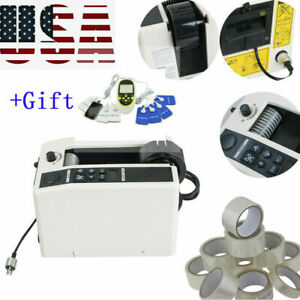 3led Automatic Tape Dispensers Adhesive Tape Cutter Packaging Dispenser Machine