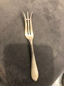 Frank M Whiting Sterling Silver Pickle Fork Antique Very Good 4 75