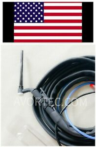 Flex Head Mini Tig Torch Water Cooled 17ft For Avortec Welders And Other Brand