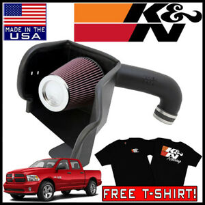 K n Aircharger Cold Air Intake System Fits 2009 2019 Dodge Ram 5 7l V8 Hemi