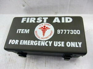 Mb Gpw Willys Ford Wwii Jeep G503 First Aid Box