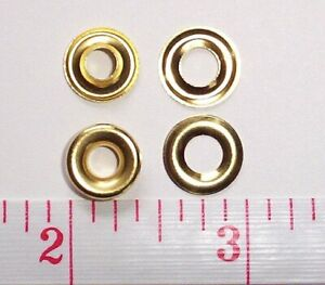 10 Gross Size 00 Brass Metal Grommets With Washers Bulk Wholesale 1440 Sets