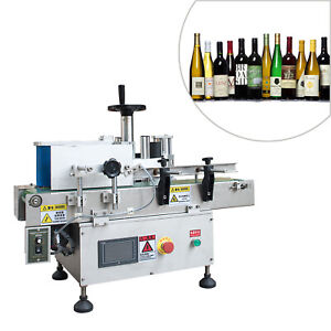 Automatic Tabletop Round Bottle Labeling Machine For Health Food lotion Mpc i