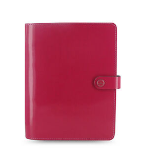 Pink Filofax A5 Original Organiser Planner Notebook Diary Book Fuchsia Leather