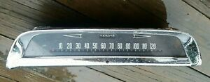 1950s 1955 1956 Dodge Coronet Speedometer Instrument Odometer Gauge Rat Hot Rod