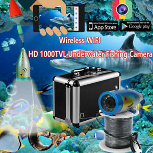 Wireless WIFI  Underwater Fishing Camera Monitor Equipment 1000TVL Video Record