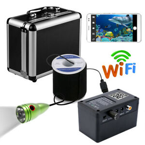 Wifi Wireless 30M Underwater Fishing Camera Fish Finder For IOS Android APP
