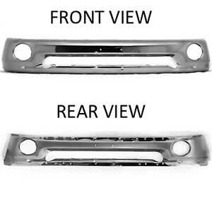 Front Bumper Face Bar For 2002 2008 Dodge Ram 1500 55077946ab V