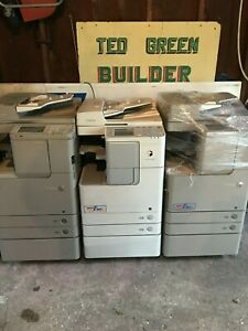 Lot Of 3 Canon Imagerunner Advance C 2225 c2230 2525 Copier printer scanners
