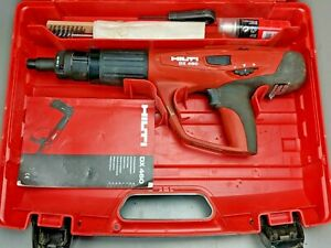 Hilti Dx 460 Concrete Nailer Powder Actuated Gun With Accessories Very Clean