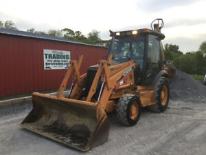2006 Case 580sm Series 2 4x4 Tractor Loader Backhoe Cab Extend a Hoe One Owner