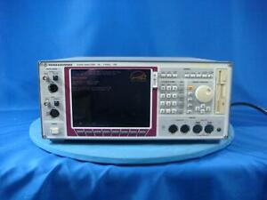 Rohde Schwarz 110 Khz Upl Audio Analyzer