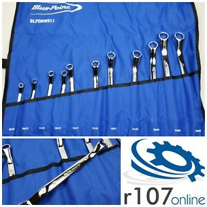Blue Point 11pc 8 27mm Offset Box Wrench Set Incl Vat As Sold By Snap On