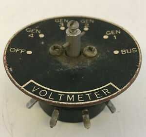 Used Weston Navy Type G 1 Switch Dial N a f Pn 1038 1038 Voltmeter Untested