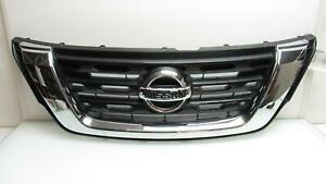 Nissan Pathfinder Upper Grille 62310 9apf1a Grill Oem 17 18 2017 2018