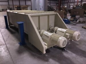 240 Cubic ft Dual Ribbon Blender Heavy Duty Excellent Condition By Hough