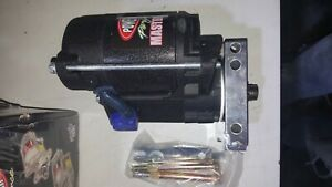 9600 Powermaster Mini Starter 180 Ft Lb Sb Chevy 350 383 Fits 153 Or 168 Tooth