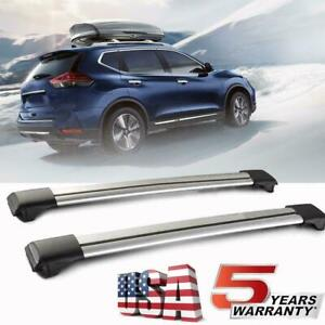 For Chevrolet Equinox 2010 2019 Aluminum Roof Rack Top Cross Bar Carrier Luggage