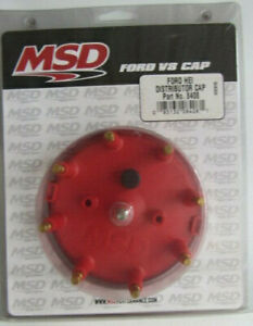 Msd 8408 Ford Lincoln Mercury Distributor Cap And Wire Retainer