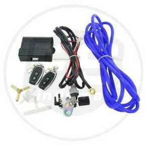Wireless Remote Vacuum Exhaust Cutout Valve Controller Set With 2 Remotes Usa