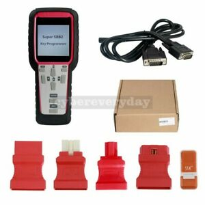 For Immo Super Sbb2 Car Key Programmer Tool Kit Odometer Obd Software tpms eps