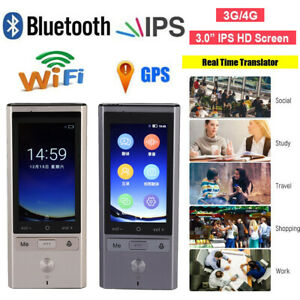 75 Languages Real Time Translator Wifi Bluetooth Gps Translation For Android 6 0