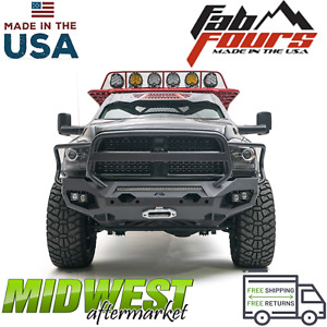 Fab Fours Matrix Front Bumper Full Guard Fits 2010 2018 Dodge Ram 2500 3500