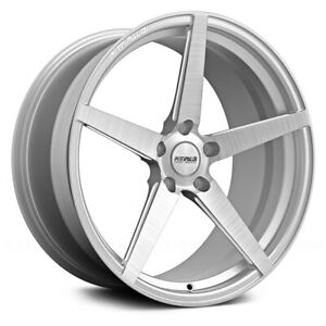 Fittipaldi Fsf02 Cb 18x8 5x120 Et 35 Brushed With Gloss Clear coat qty Of 1