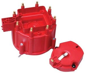 Msd 8416 Gm V8 Distributor Cap And Rotor Kit Red