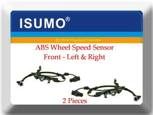 2 X Abs Wheel Speed Sensor Front l r Fits sequoia 2001 2007 Tundra 2000 2006