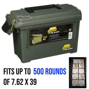 Ammo Can Storage Ammunition Case Gear Container Water Resistant Plastic Box New
